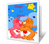 Loved-a-lot You hugs & smiles printable cards