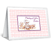 A Cheery Note saying hi printable cards