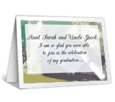 Graduation Gift thanks for the gift printable cards