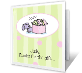 So Thoughtful thanks for the gift printable cards