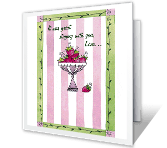 Really Good Time thanks for hospitality printable cards