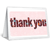 Thank You! saying thanks printable cards