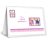 A Little Hello thinking of you printable cards