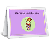 Caring About You thinking of you printable cards
