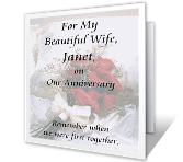 Never Enough Time happy anniversary printable cards