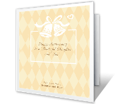 "To Daughter and ""Son"" happy anniversary printable cards"