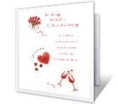 For My Wife happy anniversary printable cards