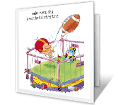 A Wonderful Adventure congratulations on baby printable cards