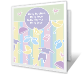 Baby Joys! baby shower printable cards