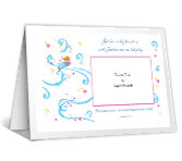 Richly Blessed<br>Add-a-Photo birth announcement printable cards