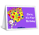 Have Fun happy birthday printable cards
