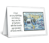God's Harmony happy birthday printable cards