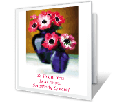 You're Someone Special happy birthday printable cards