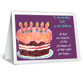 What You're Wished happy birthday printable cards