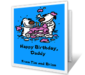 From Both of Us happy birthday printable cards