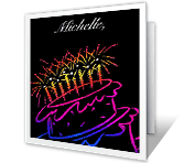 Sweet Sixteen 16th birthday printable cards