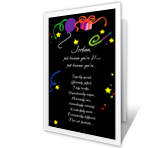 Just Because You're 21 21st birthday printable cards