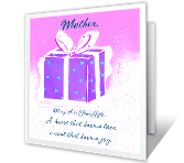 A Mother's Gifts happy birthday printable cards