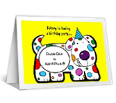 Hope to Spot You<br>Add-a-Photo happy birthday printable cards