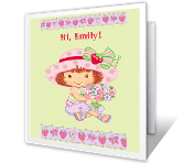 Little Birthday Wish happy birthday printable cards