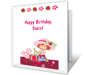 One Year Sweeter happy birthday printable cards