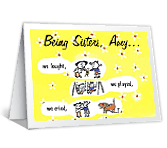 Best Friends happy birthday printable cards