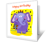 Someone Super Special happy birthday printable cards
