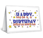 Image Gallery July Birthday Cards