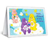 Caring and Sharing happy birthday printable cards