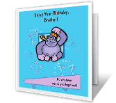 Enjoy Your Day happy birthday printable cards