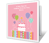 The World's Too Busy happy birthday printable cards