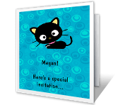 Special Invitation happy birthday printable cards