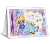 Sunshine Wish happy birthday printable cards