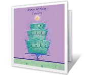 Special Joys happy birthday printable cards