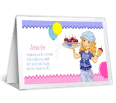 Because You're My Friend happy birthday printable cards