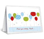 Won't Miss The Chance belated birthday printable cards