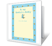 Fantastic Daddy happy birthday printable cards