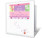 Special Grandma happy birthday printable cards