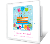 Party It Up! happy birthday printable cards