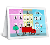 We're Gone! congratulations printable cards