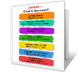 What Is Success? new job printable cards