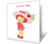 Berry Amazing! congratulations printable cards