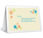Happy for Your Success workplace support printable cards