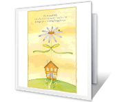 Your Home, Your Happiness congratulations printable cards