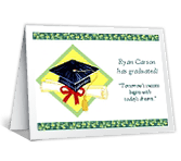 Dreams and Success graduation printable cards