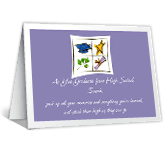 Graduation Printable Cards - High-School Graduation
