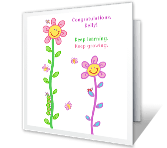 Keep It Up graduation printable cards