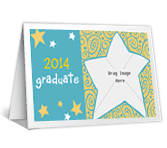 New Beginning<br>Add-a-Photo graduation printable cards