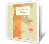 Reach for the Stars graduation printable cards