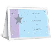 You're Invited graduation printable cards